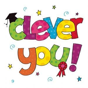 TW854 - Clever You Congratulations Card